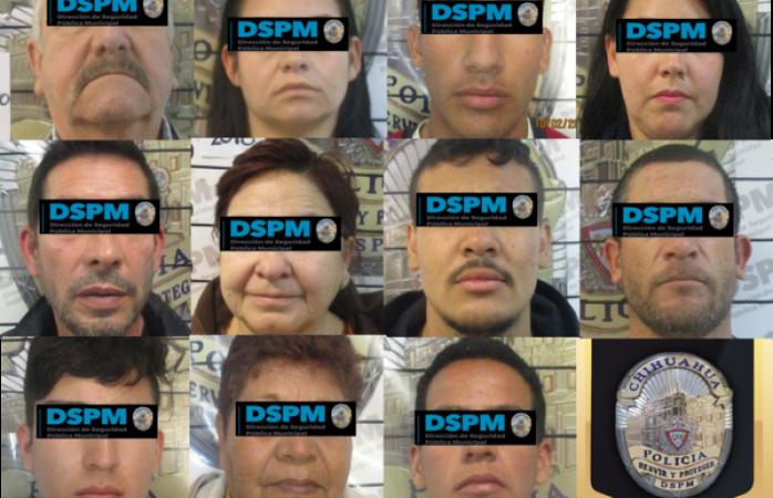 Han detenido a 11 farderos en la última semana