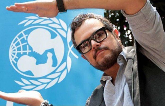 Aleks ahora si se te fue la mano le dice UNICEF al cantante