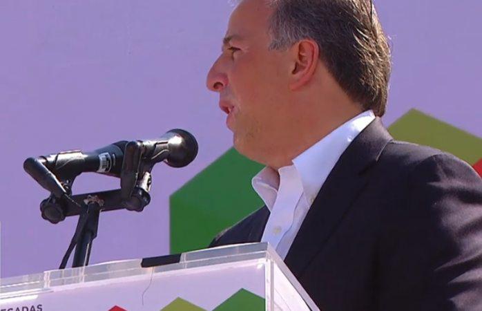 Protesta Meade como candidato del PRI a la presidencia