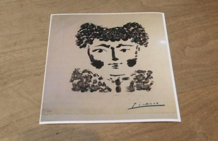 Roban pieza de arte de Picasso en galería de Estados Unidos