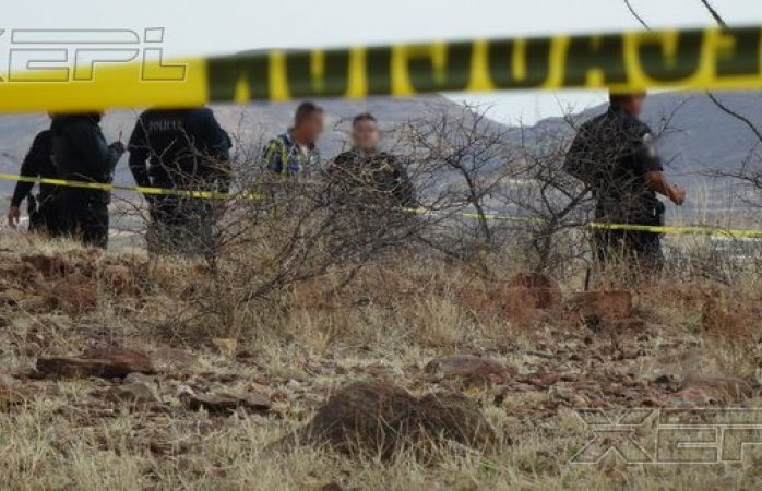 Localizan a dos personas ejecutadas en camino de terracería a Alvaro Obregon