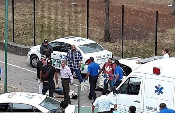 Dos heridos deja balacera en la UNAM