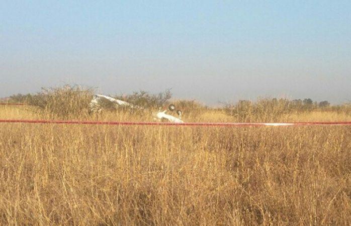 Avioneta se estrella al aterrizar en Morelia