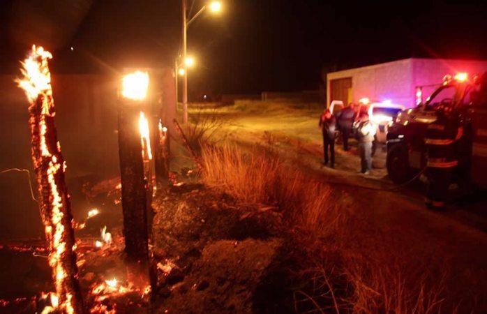 Atienden policías y bomberos 144 incidentes relacionados con ventarrones