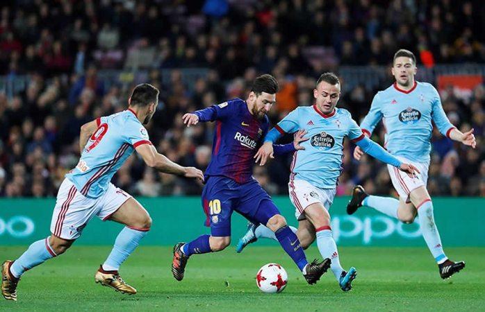 Avanza Barcelona con goleada 5-0 al Celta