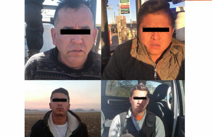 Tras enfrentamiento en Carichí detienen a cuatro; dos son policías municipales