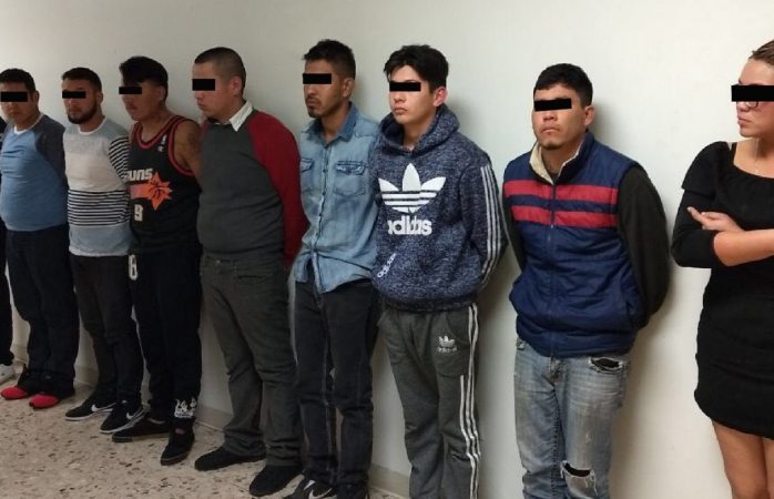 Capturan en operativo a diez presuntos sicarios que trabajaban para La Línea