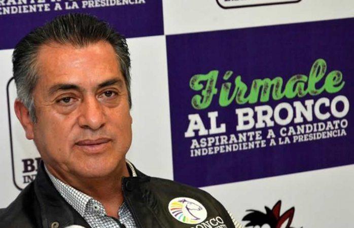 Culpa El Bronco a sus auxiliares y al poder por firmas falsas