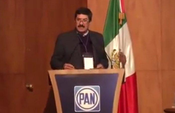 Pide Corral el respaldo del comité nacional del PAN