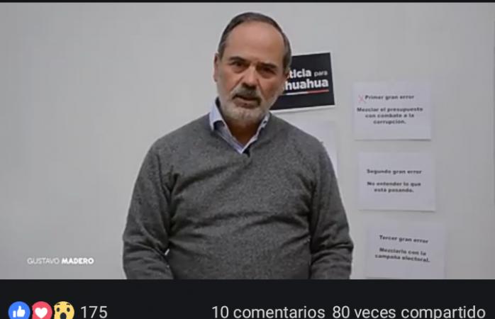Comete federación 3 errores en sus señalamientos a Chihuahua: Madero
