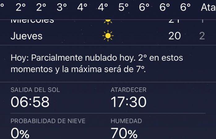Empieza clima bajo cero en la ciudad de Chihuahua
