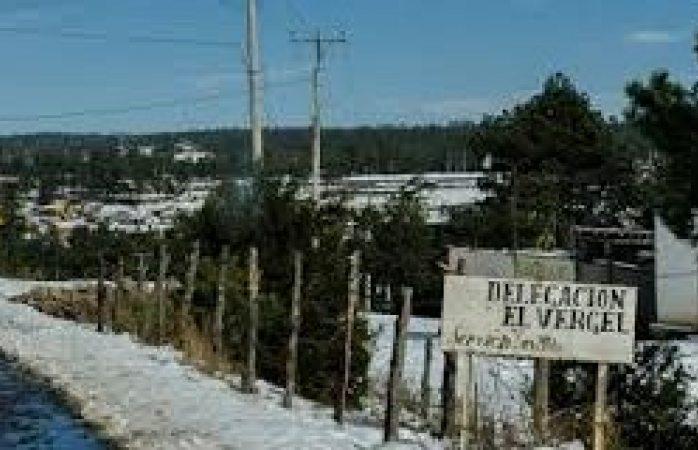 Amanece El Vergel con -8,  la temperatura más fría en el estado