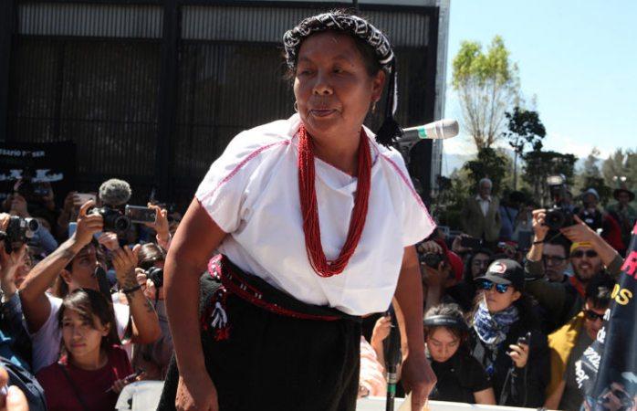 Grupo armado ataca a caravana de Marichuy en Michoacán