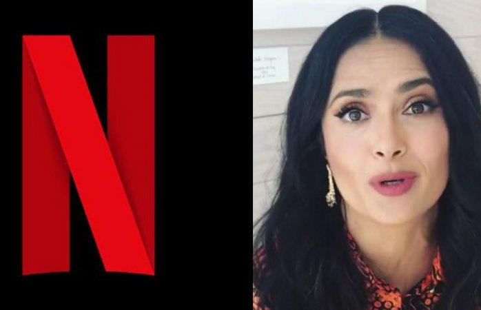 Se unen Salma Hayek y Netflix para realizar serie mexicana