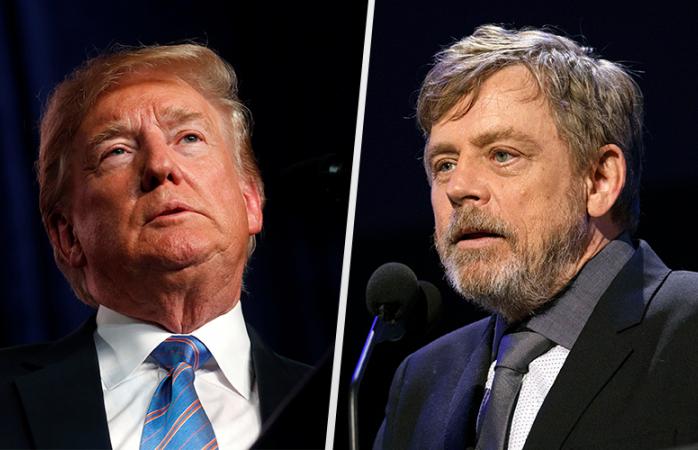 Quiero ver a Trump pidiendo a AMLO pagar su muro: Luke Skywalker