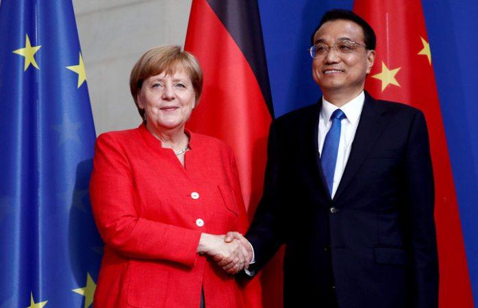 Alemania y China firman acuerdos comerciales por 20.000 millones de euros