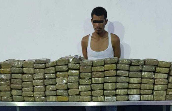 Cae integrante de La Línea con 209 kg de marihuana