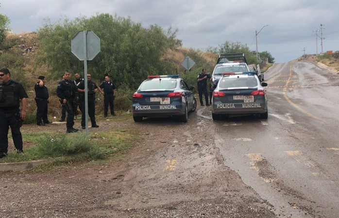 Reporte de hombre sin vida moviliza unidades al sur