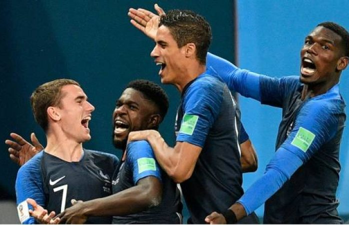 Francia es primer finalista del Mundial Rusia 2018
