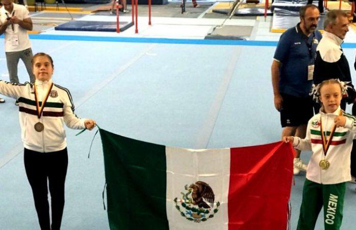 Mexicana gana oro en mundial de Gimnasia Sindrome de Down