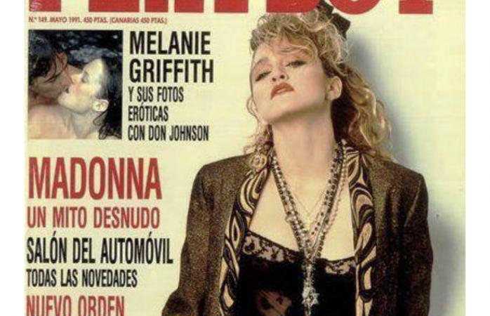 Madona recibió un ridículo pago por fotos para Playboy