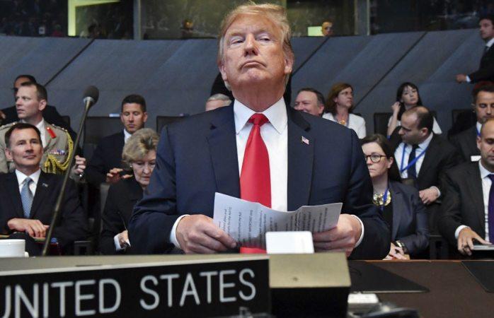 Trump abre cumbre de la Otan con reproches a aliados