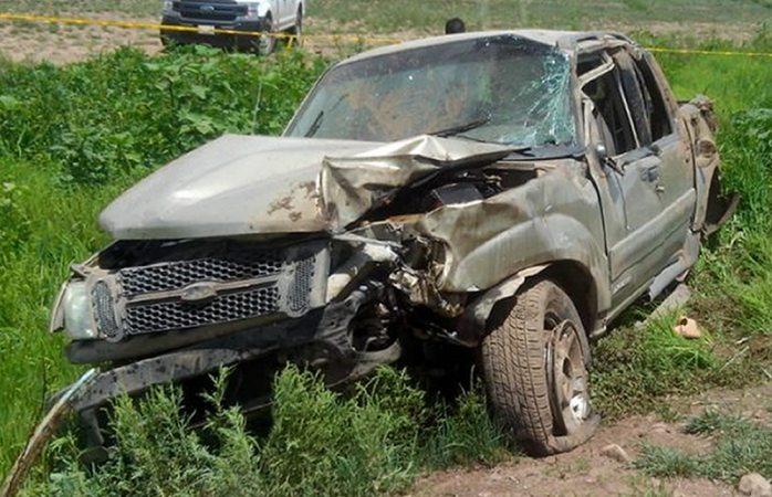 Muere menor en trágica volcadura en Namiquipa