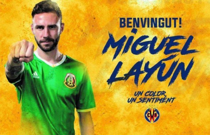 El Villarreal ficha a Miguel Layún por tres años