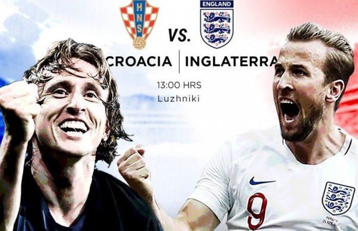 Van Croacia e Inglaterra por el boleto a la final