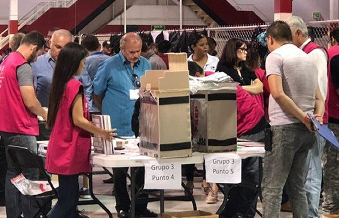 Concluye conteo de otras 378 casillas en Juárez