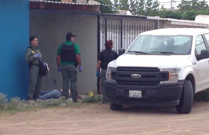 Lo ejecutan frente a su familia en Juárez