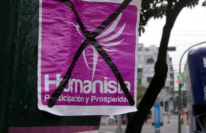 Liquidación de partido humanista: casi el doble que su misma deuda