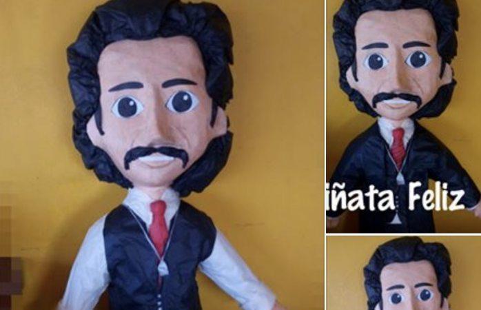 Venden en Juárez piñatas del odioso Luis Rey; termina serie de LuisMi el domingo
