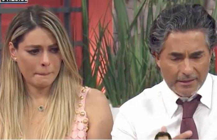 Galilea Montijo rompe en llanto por la muerte de Santiago Galindo