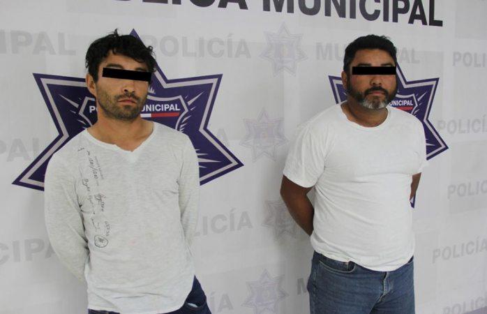 Caen dos con fuerte arsenal en Juárez