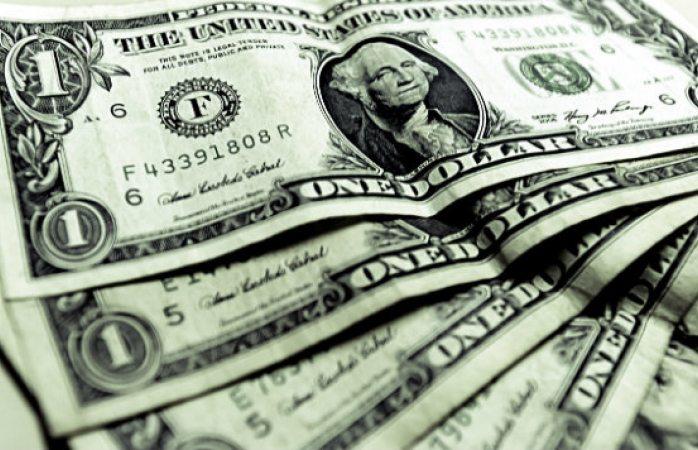 Dólar cae a 19.15 pesos en bancos