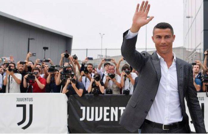 Causa euforia en Italia la llegada de Cristiano Ronaldo