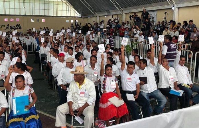 Ayutla, en Guerrero, realiza elección histórica por proceso de usos y costumbres