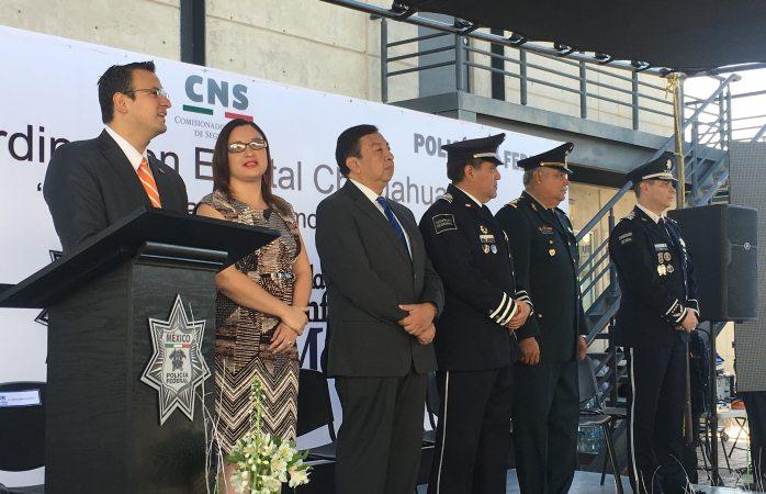 Celebran 90 años de la policía federal