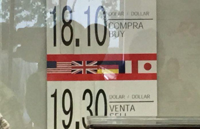 Cotizan venta del dólar en $19.30