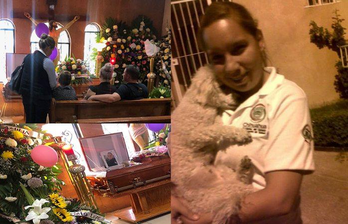 Velan familia y amigos a la agente Sarahí Cruz