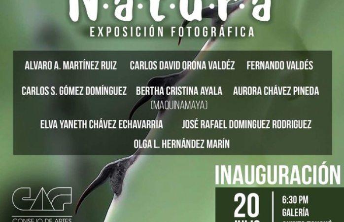 Invitan a exposición fotográfica Natura en la Quinta Touché