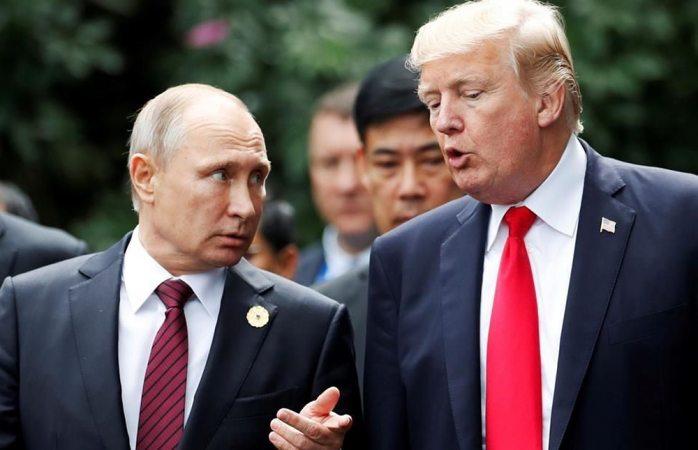Pide Trump invitar a Putin a casa blanca en otoño