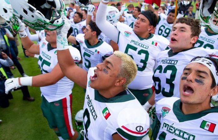 México aplasta a EU en mundial sub 19 de fútbol americano y va a la final