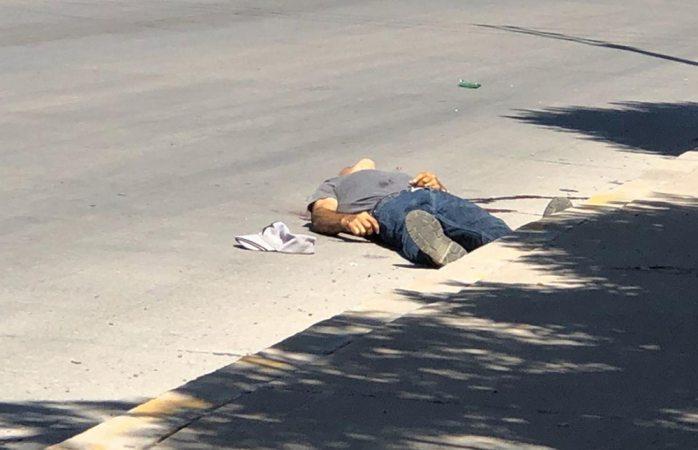 Le ejecutan en pleno bulevar en Juárez