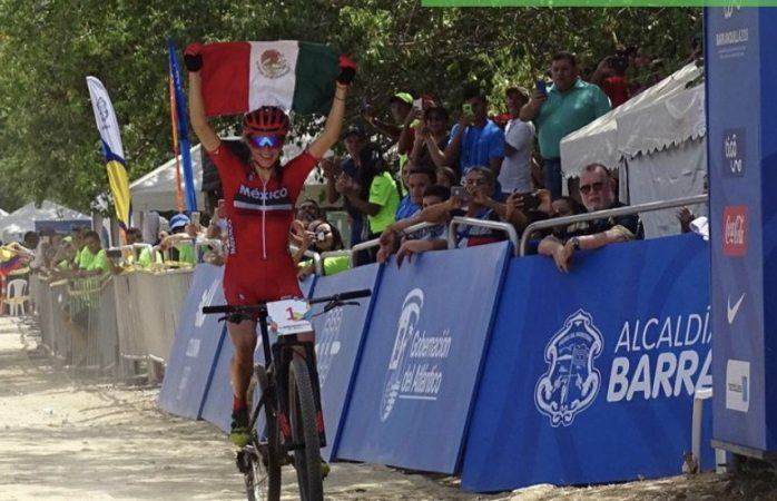 Siguen ganando medallas de oro los mexicanos en Barranquilla, ahora en ciclismo