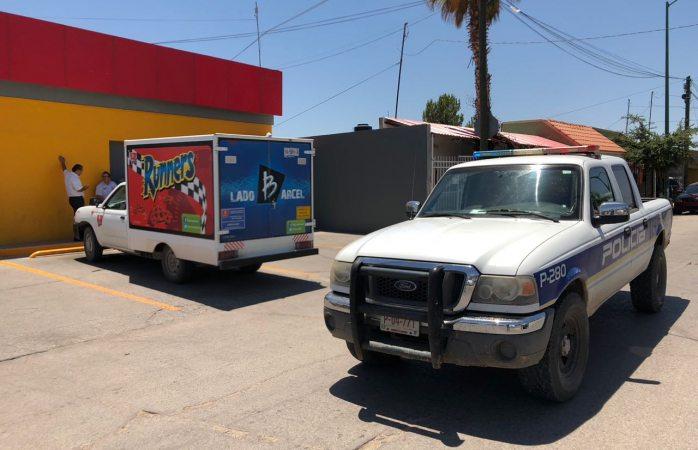 Abandonan armados vehículo de Barcel en Francisco Villa