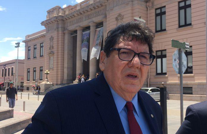 De visita en palacio Javier González Mocken