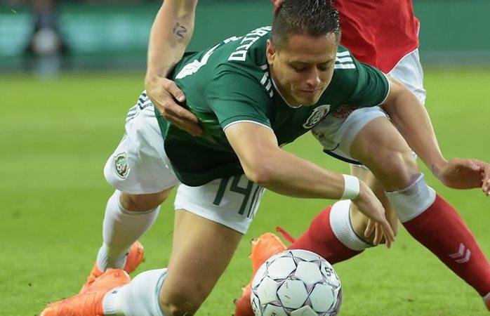 Cae el Tri 2-0 ante Dinamarca