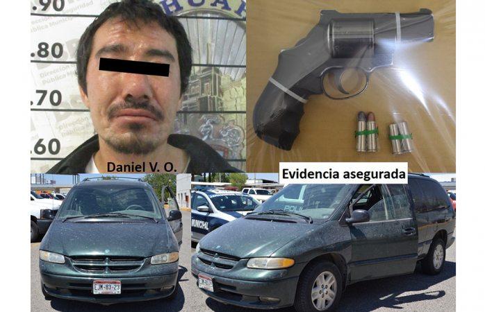 Identifican al detenido por disparar en la Campesina